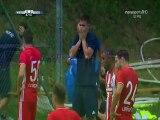 Olympiakos Players' Reactions After Retsos Injury - Wattens vs Olympiakos - 23.06.2017