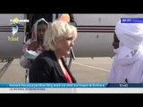 Marine le Pen reçue par Idriss Déby, avant sa visite aux troupes de Barkhane