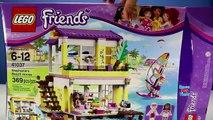 Bâtiment pour amis maison enfants mouvement examen Ensemble arrêter jouet Lego olivias