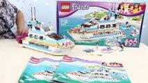 Construir crucero Delfín amigos Informe velocidad LEGO LEGO 41015