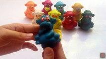 Et les couleurs crème Créatif Canards pour amusement amusement de la glace Apprendre moules jouer fraise Doh popsicle peppa k
