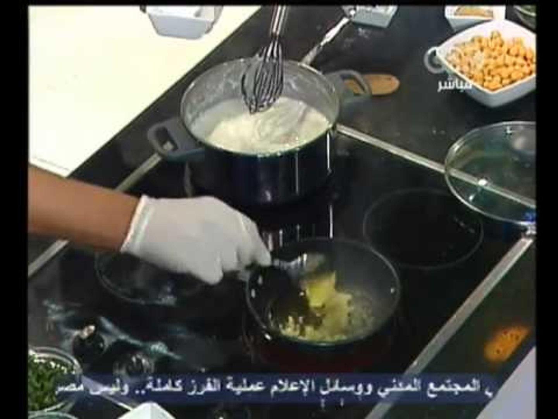 الستات مبيعرفوش يطبخوا - تبولة ولحمة بصوص الزبادي