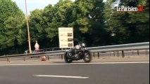 mystère une moto qui roule sans pilote