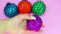Cutting Open Squishy Mesh SLIME BALLS Funny & Weird Color Changing Stress Balls!