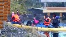 Des touristes chinois sur un kayak ça donne ça : grosse galère mais gros fou rire