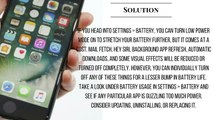 WOW!!! iphone 7 problem  POOR BATTERasdY LIFE ISSUES andLIGHTNING EARPO