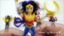 Homme chauve-souris content héros ligue repas Ensemble jouets Action de la justice de mcdonald en 2016 8 Superman dc super