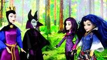 Descendance poupée gelé maléfique épeler avec Disney elsa anna mal evie audrey ben carlos