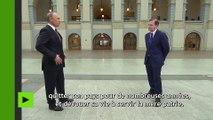 Vladimir Poutine lève le voile sur son passé d'espion «illégal» au service de l'URSS