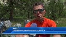Cols réservés: les cyclistes profitent des routes sans véhicules