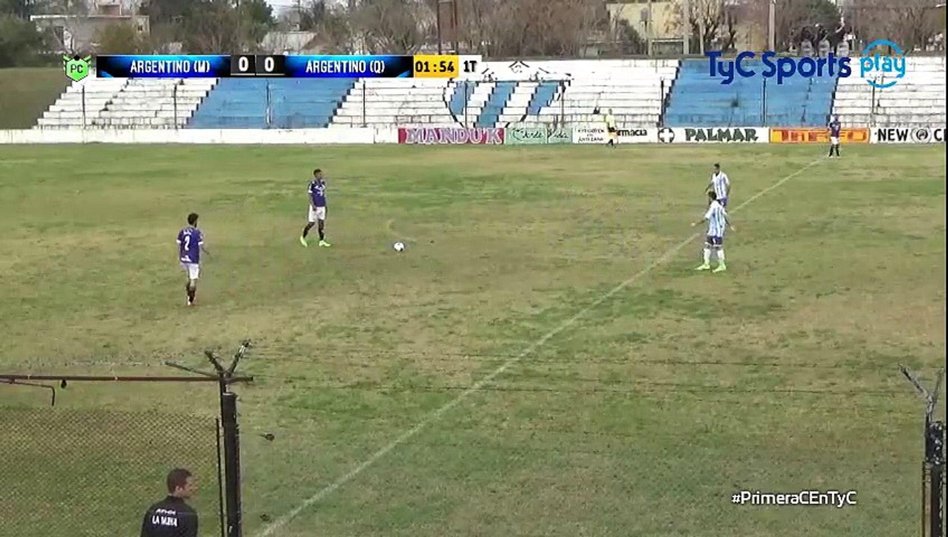0-1 Brian Duarte Goal Argentina  Prim C Metropolitana - 25.06.2017 Argentino Merlo 0-1 Argentino Qui