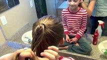 Tresser queue de cheval pour mignonne filles coiffures facile à faire
