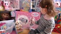Bébé née lit denfant poupée jouet pour jouet jouets Lit bébé né poupée déballer