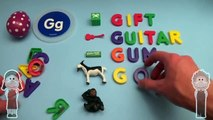 Spider-Man Surprise Egg Learn-A-Word! Spelling Words Starting With G! Lesson 6
