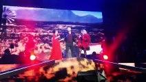 El Señor de los Cielos 5 - Rafael Amaya en concierto de Gloria Trevi y Alejandra Guzmán