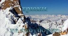 Génial chanceux et sur plupart cascades extrêmes snowboard ✦ snowboard ✦