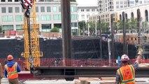 Raising a soldier beam (Week 45 construction clips set #2)
