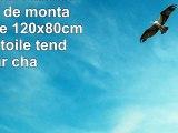 Bilderdepot24 tableau toile lac de montagne  paysage  120x80cm 3 pièces  toile tendue
