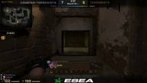 CSGO: This one-way smoke in apartments is pretty nice