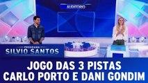 Jogo das 3 Pistas - Carlo Porto e Dani Gondim - 25.06.17 - Completo