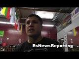 BKB Champ pelos garcia on his title fight EsNews Boxing