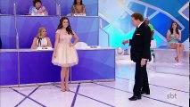 Maisa chora ao receber homenagem de Silvio Santos - Programa Silvio Santos (25/06/17)
