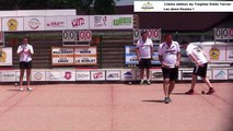 Demi-finales, 12ème Trophée Emile Terrier, Sport Boules, Satolas et Bonce 2017
