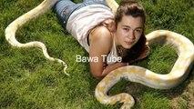 رات کو سانپ کے ساتھ سوئی ہوئی لڑکی کے ساتھ سانپ نے کیا کیا خود ہی دیکھیں