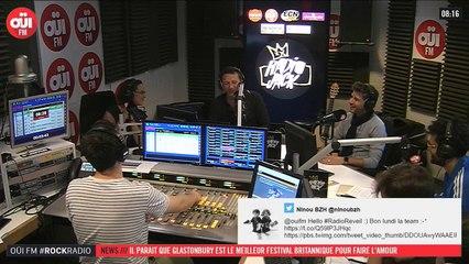 La radio OUI FM en direct vidéo /// La radio s'écoute aussi avec les yeux (3292)