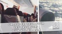 Grosse frayeur pour les passagers du vol AirAsia entre l'Australie et la Malaisie