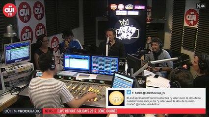 La radio OUI FM en direct vidéo /// La radio s'écoute aussi avec les yeux (3299)