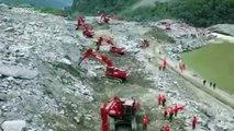 Éboulement en Chine: 93 disparus, les recherches continuent