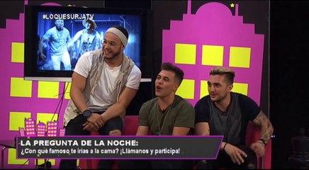 Lo Que Surja 20/06/17 DAVID SAMPEDRO & SAMUEL, TONY LOZANO Y DOS CHAMOS (parte2)
