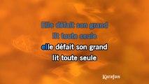 Jean-Jacques Goldman - Elle a fait un bébé toute seule KARAOKE / INSTRUMENTAL