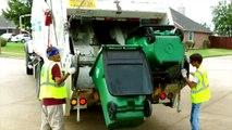Des déchets un camion vidéos pour enfants des déchets camions Béguin truc