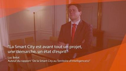 """Dossier Smart Territoires : Interview Luc Belot, auteur du rapport """"De la Smart City au Territoire d'Intelligence(s)"""""""