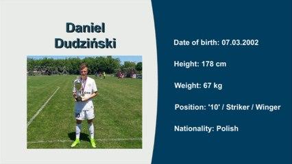 Daniel Dudziński, Video no 1, International Football Tournament Kubala Cup 2017, '10' / Striker / Winger