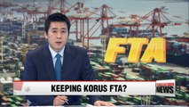 U.S. has no plans to scrap KORUS FTA: Trump's trade chief