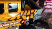 Des voitures contrôle pour géant vert dans intérieur enfants monstre récréation éloigné jouets un camion avec Rc 5 1