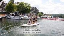 Initiation au paddle pendant les jours blancs, à Namur