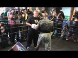 Tim Bradley Full Workout Explosive for Manny Pacquiao Fight EsNews Boxing