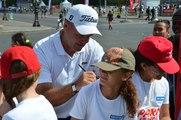 Journées Olympiques : le golf fait des curieux