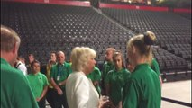 Prince Charles and Camilla visit Manchester Arena