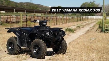 2017 Yamaha Kodiak 700 SE 4x4 ATV Review