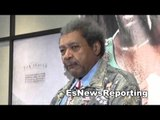 Don King On Working With Mike Tyson Muhammad Ali and legends EsNews Boxing