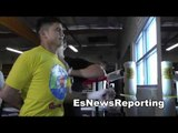 mikey garcia sparring valero was harder than sparring pacquiao EsNews Boxing