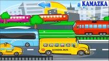 Niños para Niños aprendizaje calle vehículo vídeos Vehículos-coches kamazka