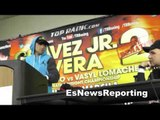 vasyl lomachenko asked about orlando salido low blows and dirty fight EsNews Boxing