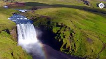 Awesome Skogafoss Waterfall in South Iceland -... - Awesome places in the world