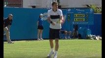 Zap Sport 27 juin : Nicolas Mahut se fait sortir dès le premier tour du tournoi d'Eastbourne (vidéo)